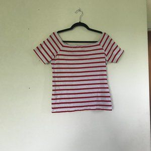 Red/White Striped T-Shirt H&M